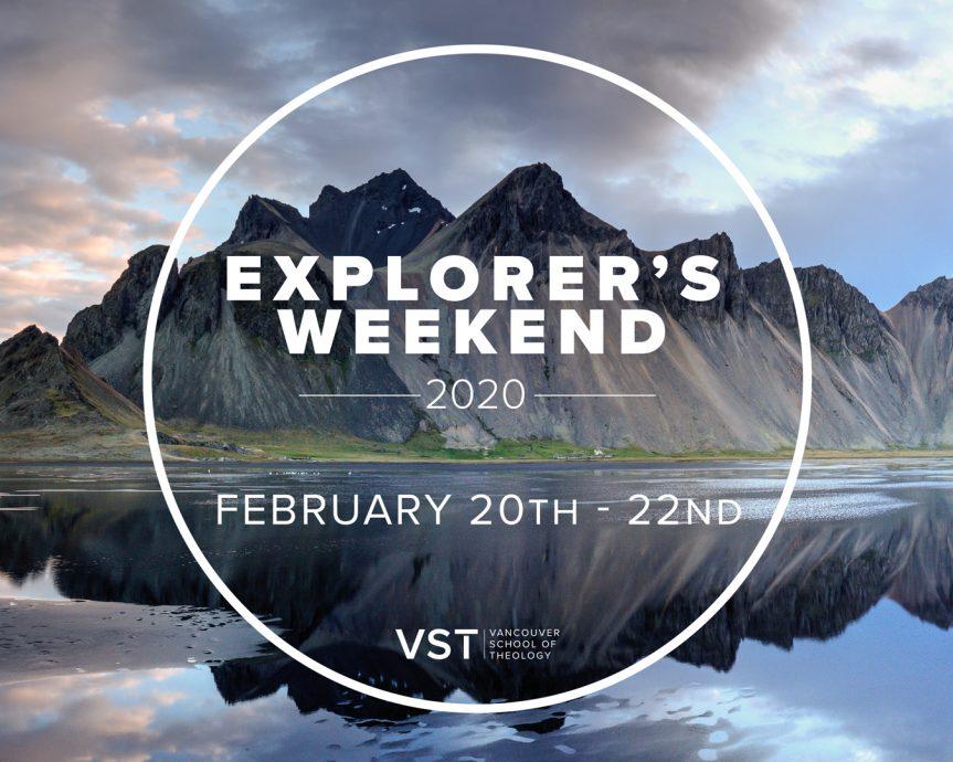 Explorers Weekend 2020