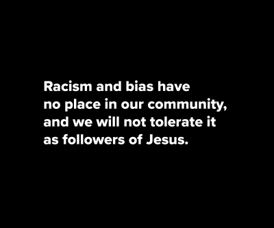 Anti-Racism Message Image
